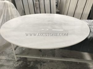 Chinese carrara white table tops