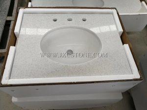Crystal white vanity tops