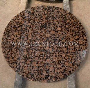 Baltic brown table tops