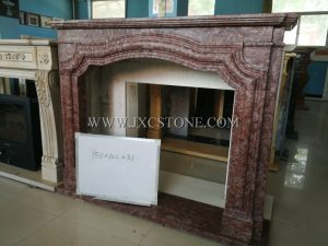 France Roses Fireplace
