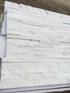 White Quartz Stacked Culture Stone -3