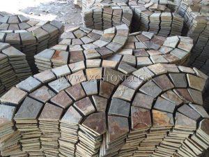 Slate Mesh Cube Stone