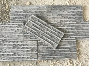 Dark Grey Stacked Stone