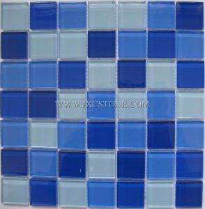 Swimming pool Crystal Glass Mosaic Tile
