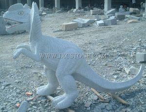 Dinosaur Stone Carving