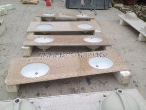G682 vanity tops (double sinks)