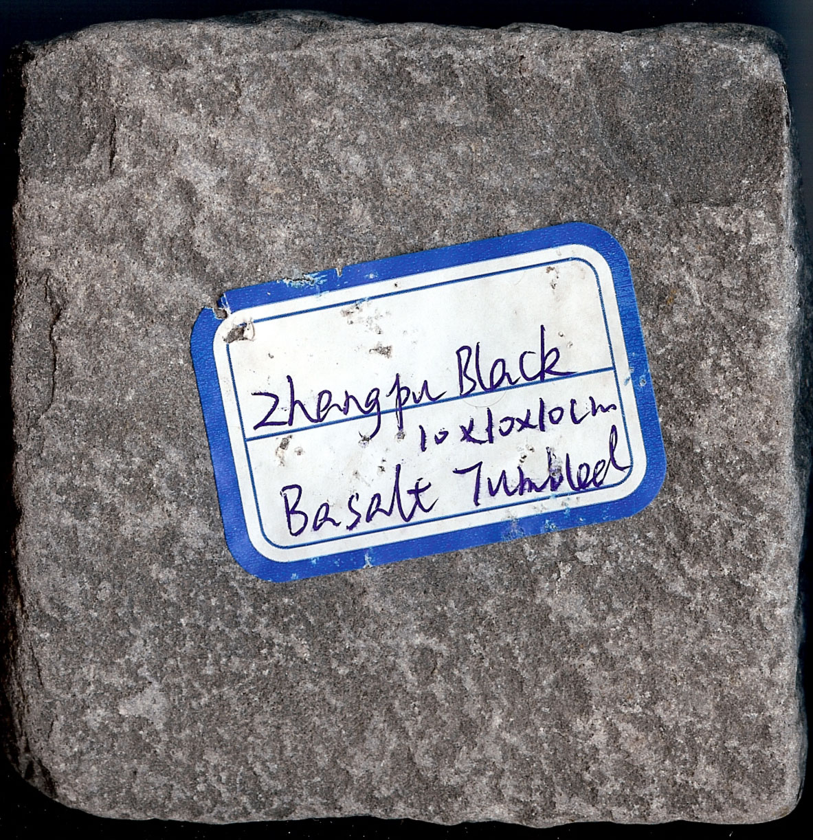 ZhangPu Black Tumbled