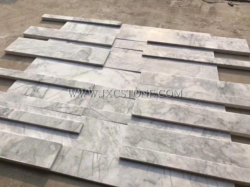 Chinese Carrara White Marble Culture Stone 02