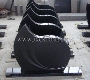 Shanxi Black European Styles Tombstone