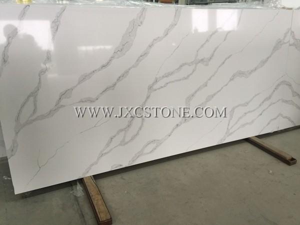 Calacatta White Quartz -8900