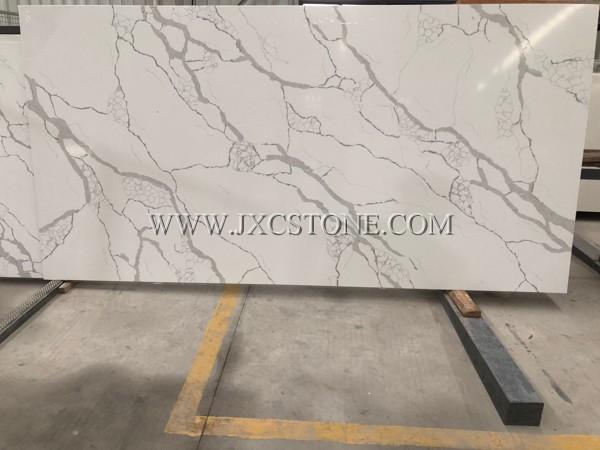 Calacatta White Quartz -9100