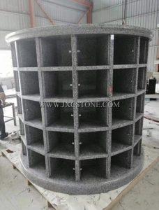 Grey Granite Columbarium Niches