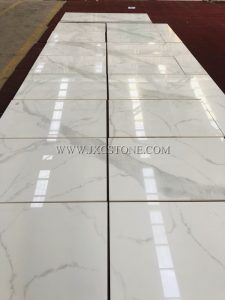 Calacatta White Nano Glass Tile
